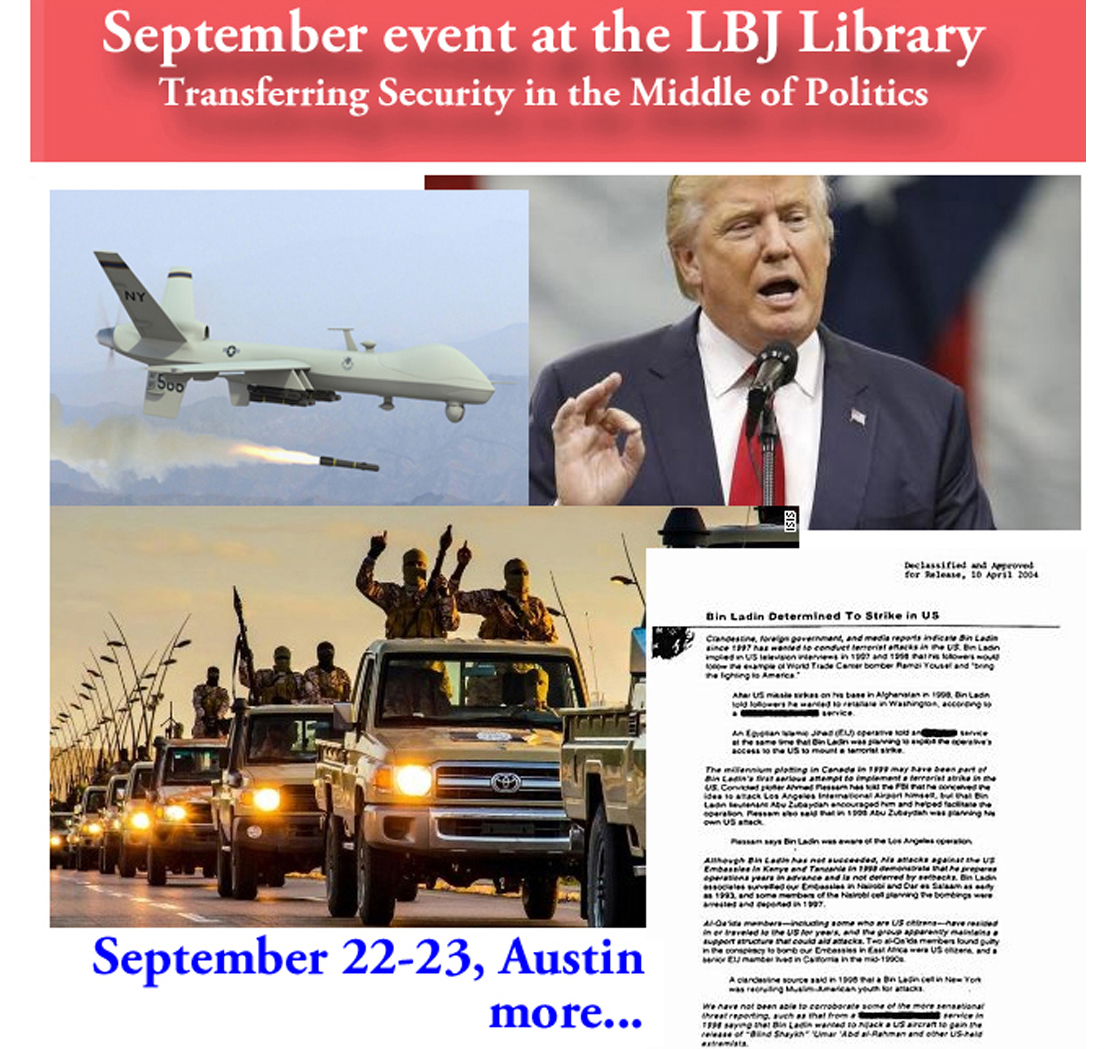 Lyndon Baines Johnson Library WHTP Event